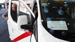 Los taxistas de Madrid se declaran en huelga
