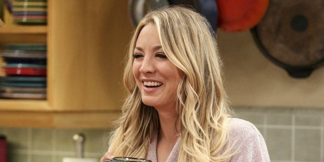 Kaley Cuoco, en una escena de 'The Big Bang
