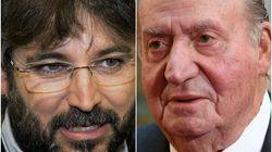 El Rey Juan Carlos cuelga a Jordi Évole tras mencionarle el viaje a