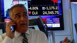 Wall Street sufre un segundo batacazo histórico en una