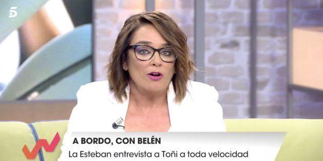 El mensaje de Toñi Moreno en 'Viva la vida' para zanjar la polémica con María Teresa