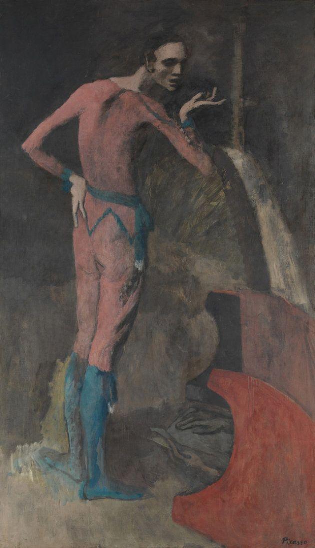 'The Actor', de Pablo Picasso, se expone en el Met de Nueva