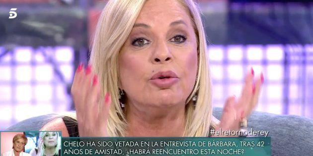 Bárbara Rey carga contra Pilar Urbano en 'Sábado Deluxe' y amenaza con irse del