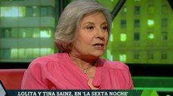 La actriz Tina Sáinz desvela las amenazas que sufrió por ir a la boda de la hija de