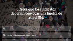 VOTA: ¿Deberían convocar los sindicatos una huelga de 24h el 8 de