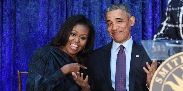 Michelle y Barack Obama lo dan todo en el concierto de Beyoncé y