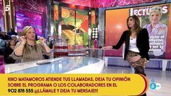 Belén Esteban abandona el plató de 'Sálvame': no es por lo que estás