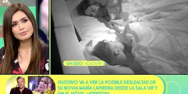 Miriam Saavedra ha criticado duramente a Sofía