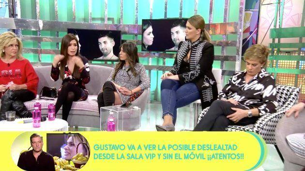 Miriam Saavedra durante su dura