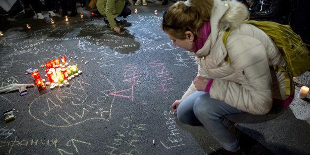 Mujeres búlgaras recuerdan a víctimas de violencia machista en el Día de la eliminación de las violencias...