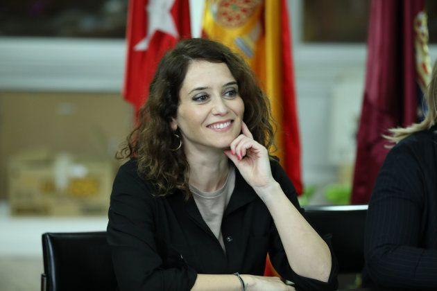 Isabel Díaz Ayuso, candidata del PP a presidir la Comunidad de