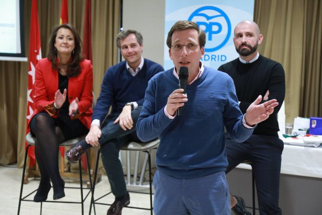 José Luis Martínez-Almeida, candidato del PP a la alcaldía de