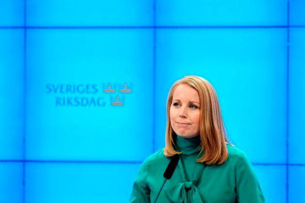 La líder del Partido Centrista, Annie