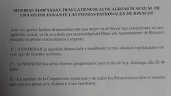 Un pueblo de Huesca suspende sus fiestas por una denuncia de agresión