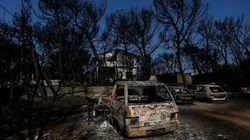 La cifra oficial de fallecidos por incendios en Grecia se eleva a