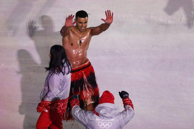 Sorpresa por lo que ha hecho el abanderado de Tonga en la inauguración de los JJOO de