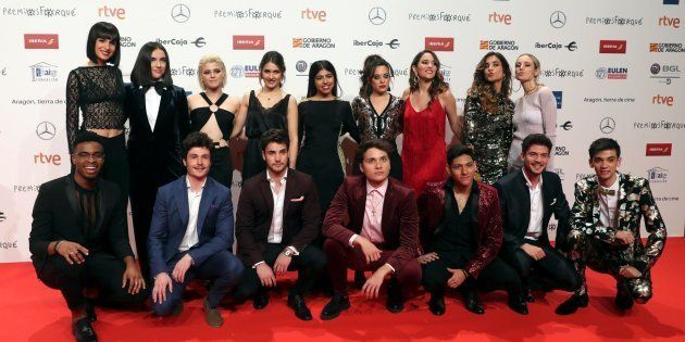 Los concursantes de 'OT 2018' en los Premios