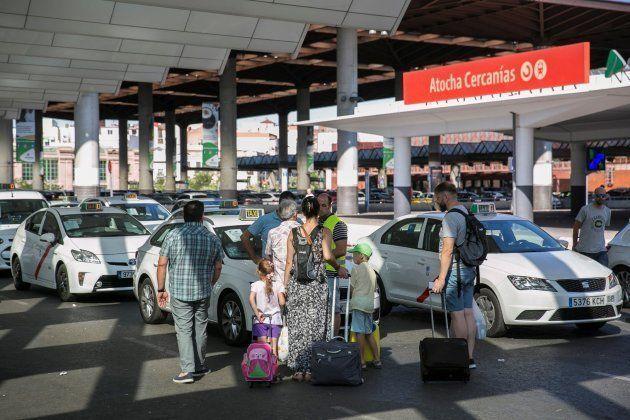 Los taxistas mantienen la huelga al no llegar a un acuerdo con el Ministerio de