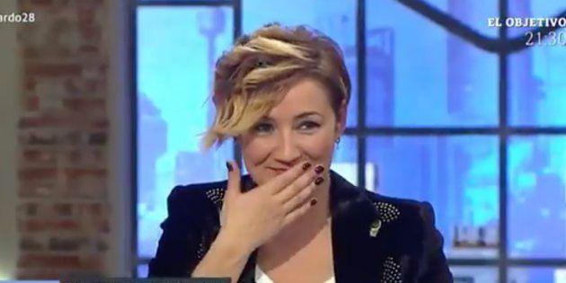 Cristina Pardo, en un momento de apuro en 'Liarla