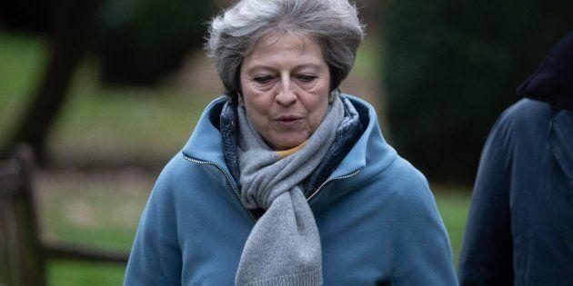 La primera ministra británica, Theresa May, en una imagen de