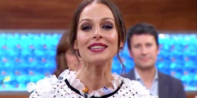 La presentadora Eva