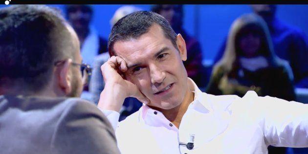 Jesús Vázquez con Risto Mejide en