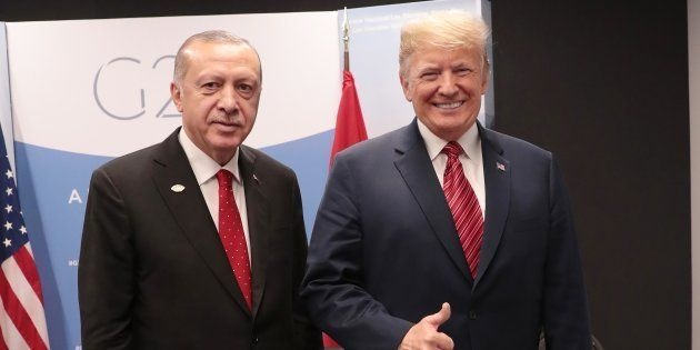 Recep Tayyip Erdogan y Donald Trump, el pasado 1 de diciembre en Buenos Aires, durante la cumbre del