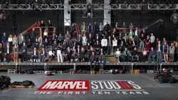 10 años del universo Marvel en el cine resumidos en una imagen