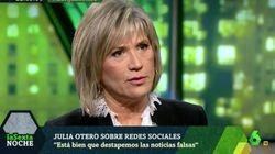 Julia Otero desvela este grave incidente en Twitter que su familia no