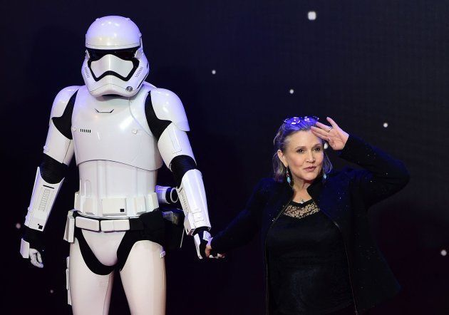 Así volverá Carrie Fisher para la próxima película de 'Star