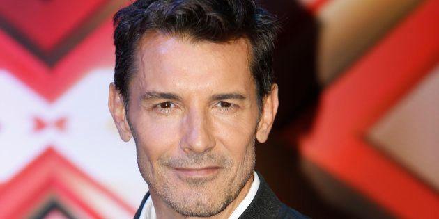 El presentador Jesús Vazquez, en la presentación de 'Factor X' el 9 de abril de