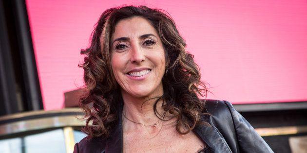 Paz Padilla en la presentación de su obra de teatro 'Desatadas', en diciembre de