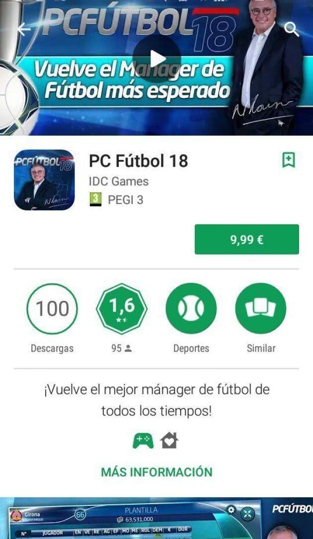 ¿Jugabas al 'PC Fútbol'? Tenemos buenas noticias para