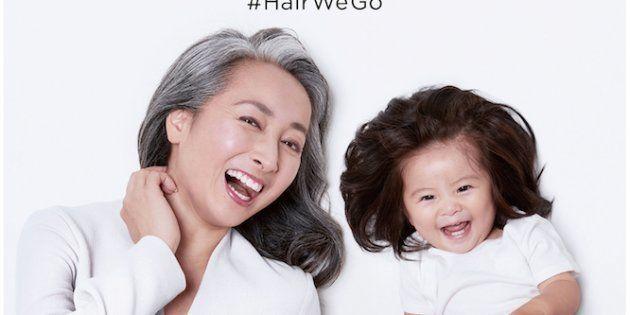 Baby Chanco, la bebé japonesa que se ha convertido en modelo Pantene gracias a su