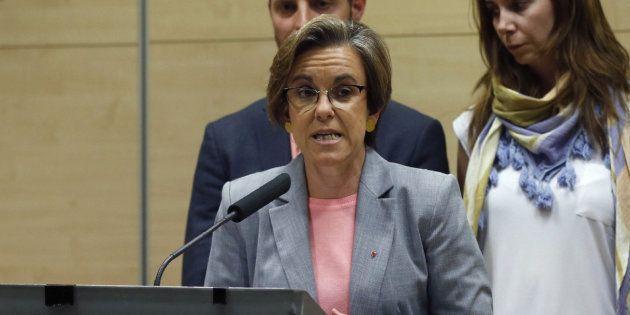 La portavoz del PSOE en el Ayuntamiento de Madrid defiende el