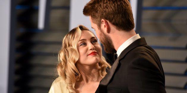 La romántica declaración de amor de Miley Cyrus a Liam