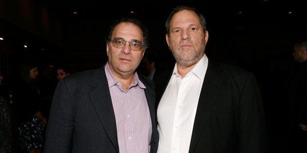 Los productores hermanos Harvey y Bob