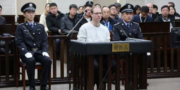 El ciudadano canadiense durante el juicio por tráfico de