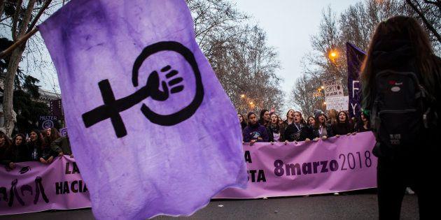 Manifestación del Día de la Mujer, el pasado 8 de marzo en