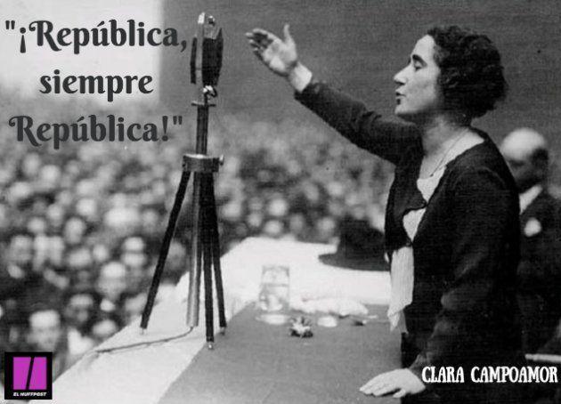Debes a Clara Campoamor mucho más de lo que te
