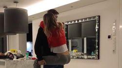 Polémica por el vídeo de Álvaro Morata junto a su mujer en
