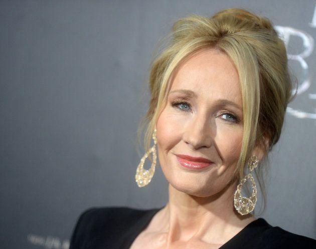 J. K. Rowling, creadora de la saga de libros de 'Harry