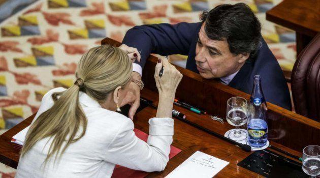 Granados implica a Cifuentes y acusa a Aguirre de pagar campañas paralelas con dinero