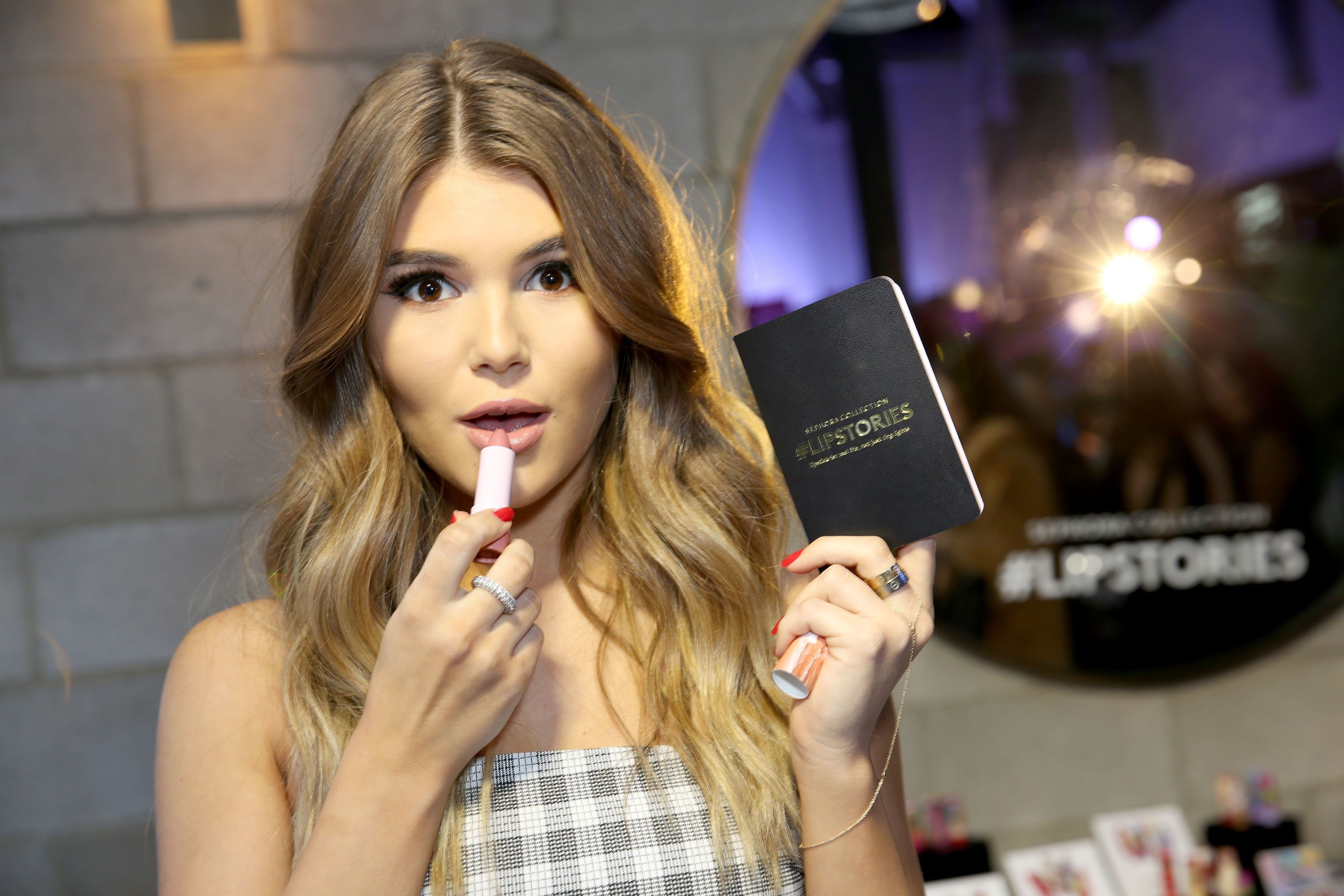 LOS ANGELES, CA - DECEMBER 12:  Sephora Collection 2018 Ambassador Olivia Jade attends the Sephora Collection #Lipstories launch at Sephora Studios LA on December 12, 2017 in Los Angeles, California.  (Photo by Rachel Murray/Getty Images for Sephora Collection)