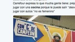 Críticas a Carrefour por esta campaña sexista por el Día del Niño en