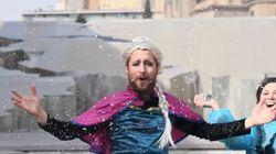 La versión maña de 'Frozen' se ríe del cierzo