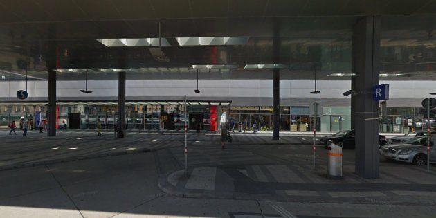 Estación central de Viena, donde han ocurrido los