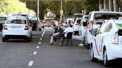 Tercera jornada de huelga de taxis a la espera de la Conferencia Nacional del