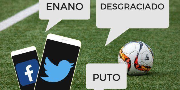 Dos de cada diez comentarios en redes sociales durante un partido de fútbol son