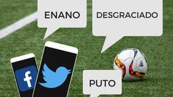Dos de cada diez comentarios en redes durante un partido de fútbol son